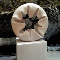 Fine art garden outdoor decoration abstract sculpture carved in stone