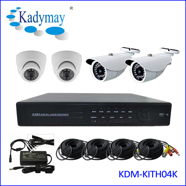 hot new products for 2014!!!Full HD Hot New Selling !!! 4ch HD 800tvl CCTV Camera Dvr Security System kits, Act Now!!!