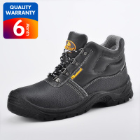 SAFETOE Safety Boots Work Shoes Black Waterproof Leather Work Boots Steel Toe Safety Shoes