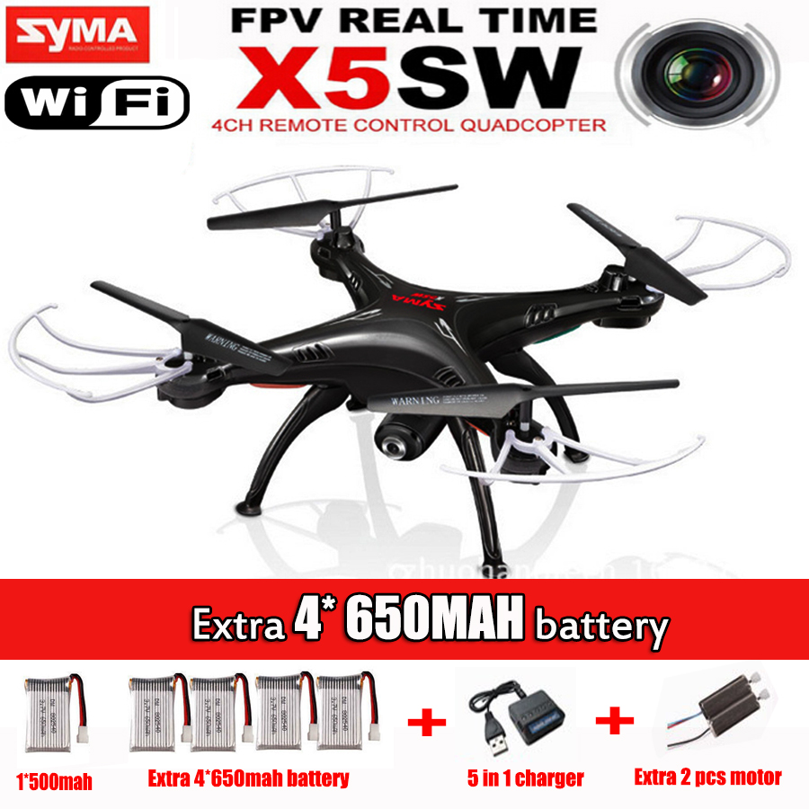 New Listing Syma X5sw (Black And White) 2.4G 4CH 6-Axis 2MP Professional Aerial