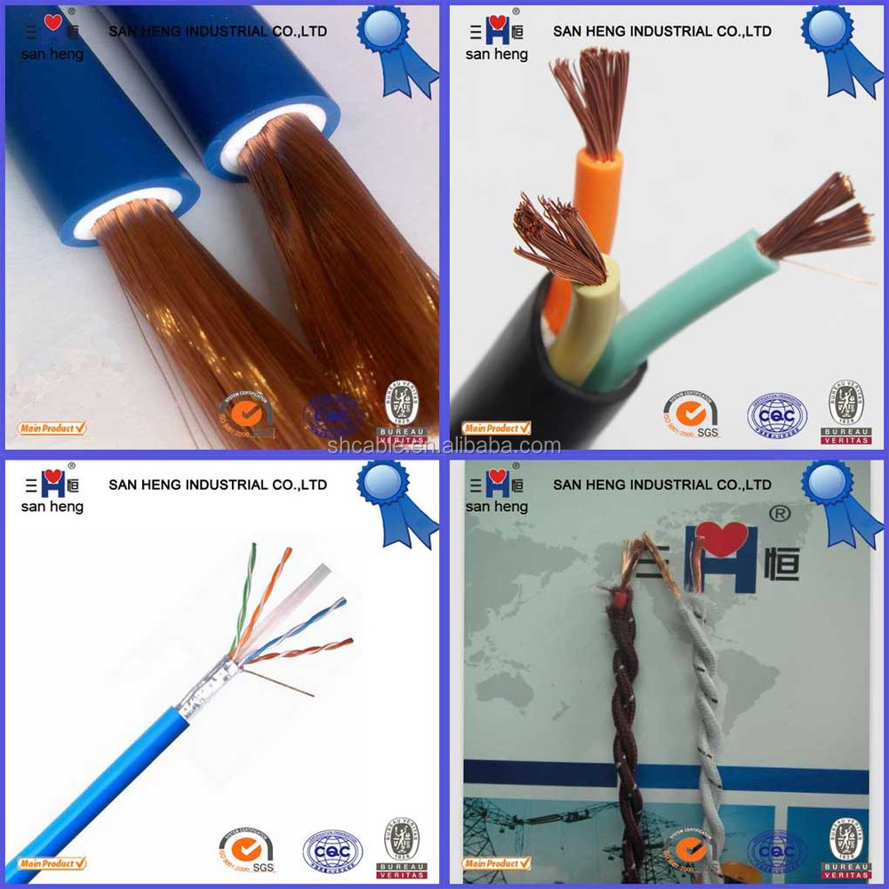 Copper Conductor House Wiring Electrical Cable 25mm Electric Wire Bv