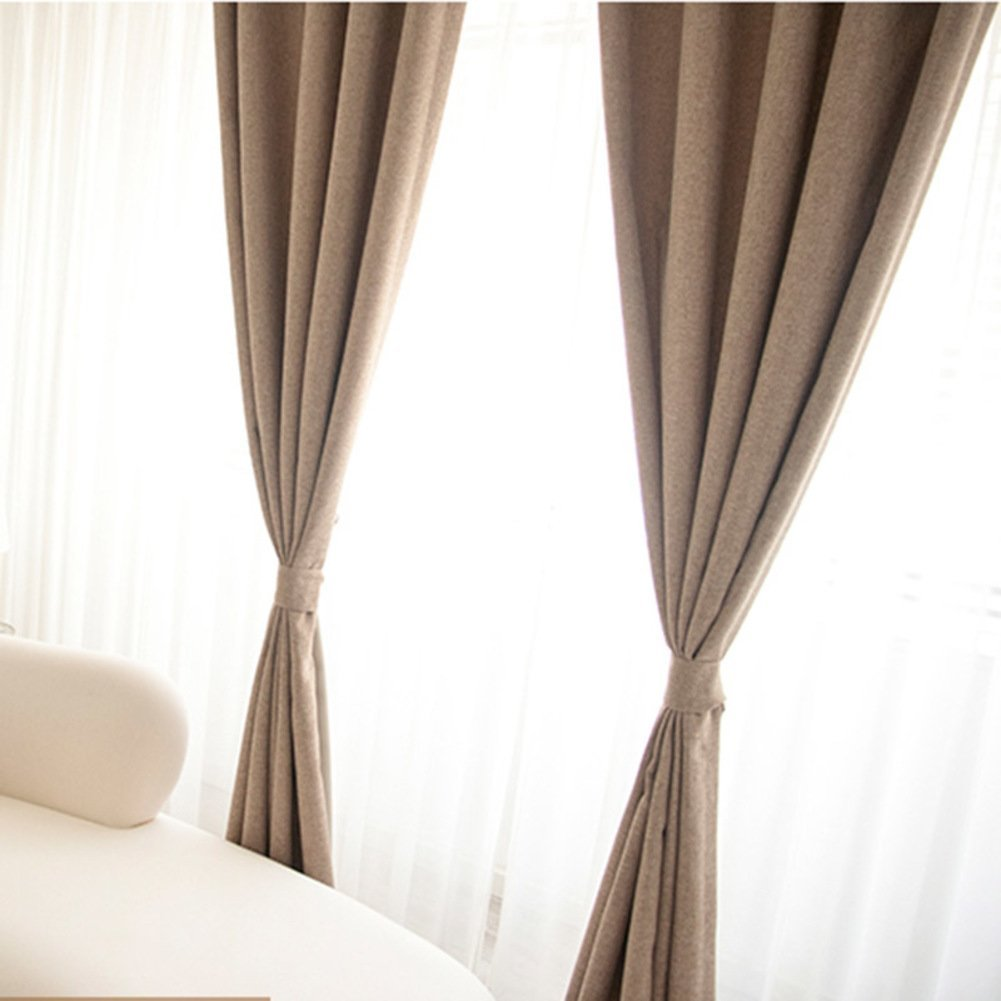 detail window curtains drape hotel product curtain chenille buy