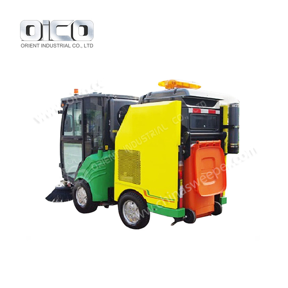 New Condition Industrial Vacuum Cleaner OR5021TSL Diesel Road Sweeper