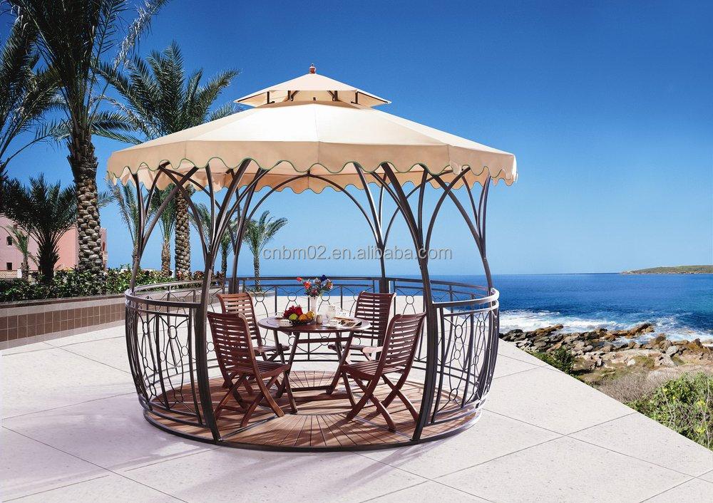 New Design Rattan Garden Gazebo To Saudie Arabia