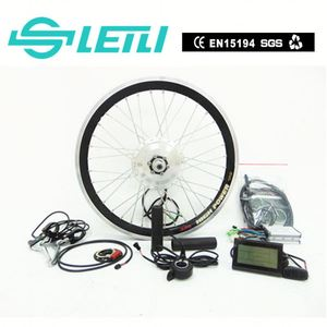36V 350W Bafang Central Electric Bike Conversion Hub Motor Kits with the TFT display