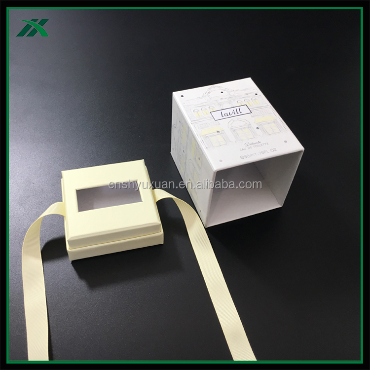 high quality custom gift cardboard box for glass candles