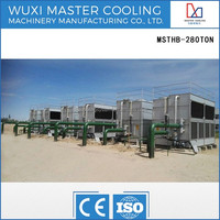 125 Ton Closed Circuit Cross Flow MSTHB-125 Not Opened Water Cooling Tower Evaporative Cooler System