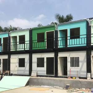 Good quality 40 ft container homes for sale,prefabricated modern steel structure house