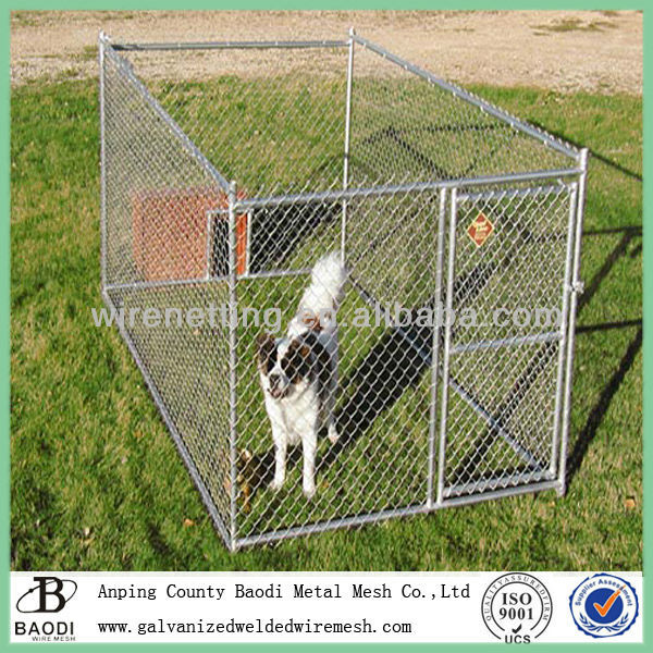 woven galvanized wire mesh dog fence