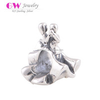 Waltz Dancing Charms Jewelry Cheap Wholesale 925 Sterling Silver Jewelry