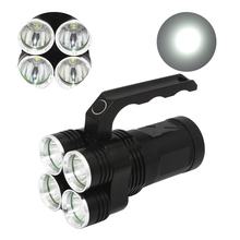 4500LM LED <span class=keywords><strong>Torcia</strong></span> Elettrica 4 * XM-L2 Spotlight Searchlight <span class=keywords><strong>Torcia</strong></span> Tattica di <span class=keywords><strong>Caccia</strong></span> di Campeggio <span class=keywords><strong>Luce</strong></span> luminosa Eccellente