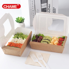 Paper Paper Custom Printed Take Away Disposable Paper Japanese Food Take Out Boxes