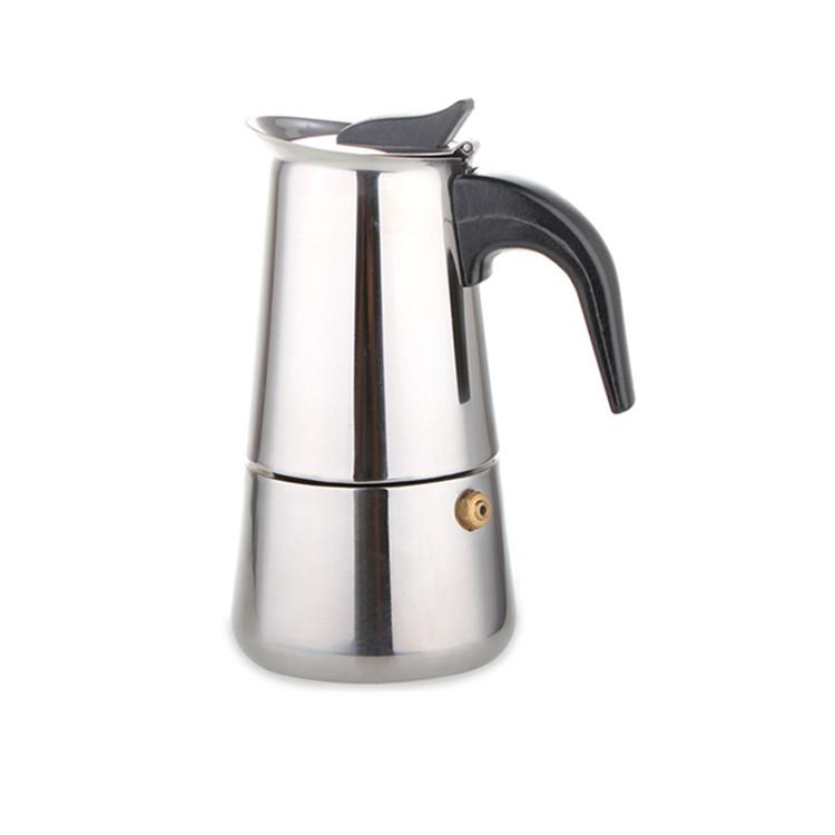 De acero inoxidable cafetera nespresso café maker portátil 2