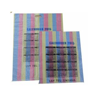 China hotsale muti-color pp woven shopping bag export to Mauritania, Gambia