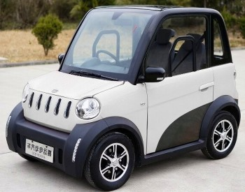 2 Seater Small Cars Electric Four Wheel Car For With Eec Certification