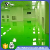 Waterproof and anti-dust epoxy resin flooring paint coating