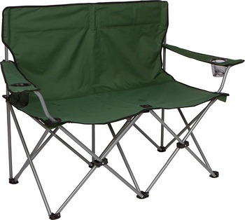 Portable Outdoor Folding Double Seat Beach Chair Camping