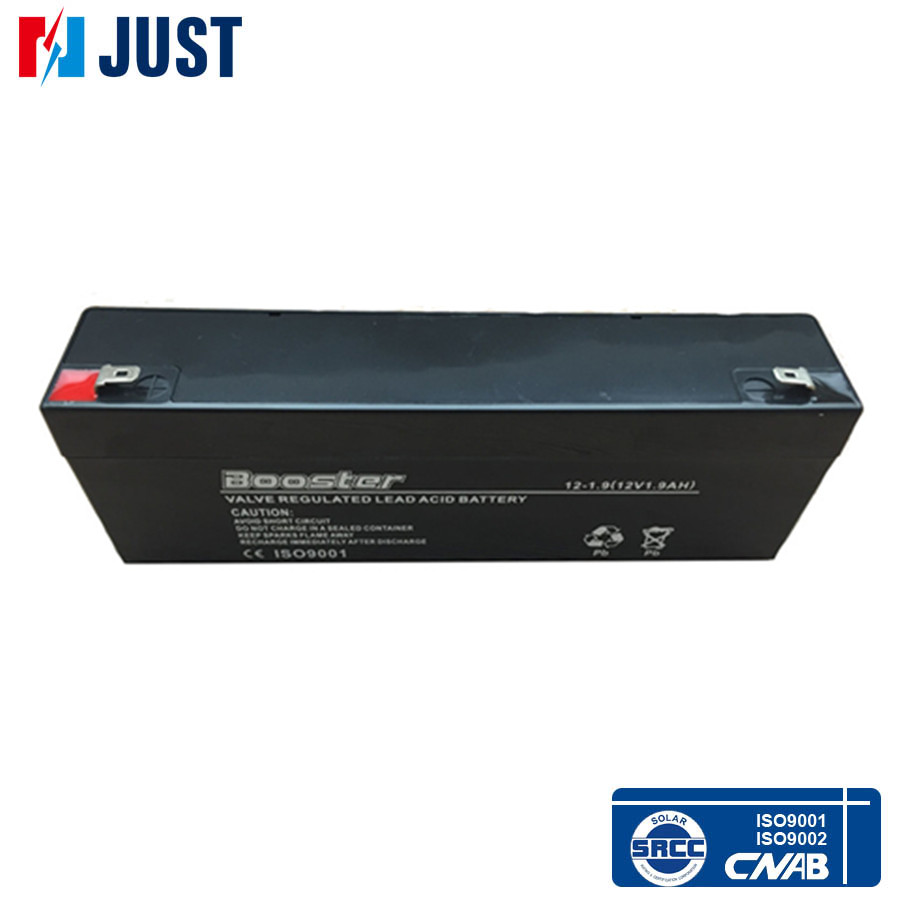 Warranty one years small rechargeable 12v 1.9ah battery