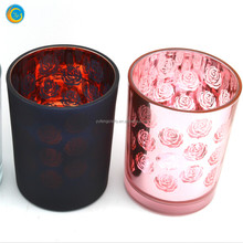 Beautiful mercury glass candle holder wedding decorations diy