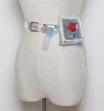 Mihaivina Стразы, поясные сумки из ПВХ, Женские поясные сумки, голографические поясные сумки для девушек, сумки для путешествий, сумки для телефо...(Китай)