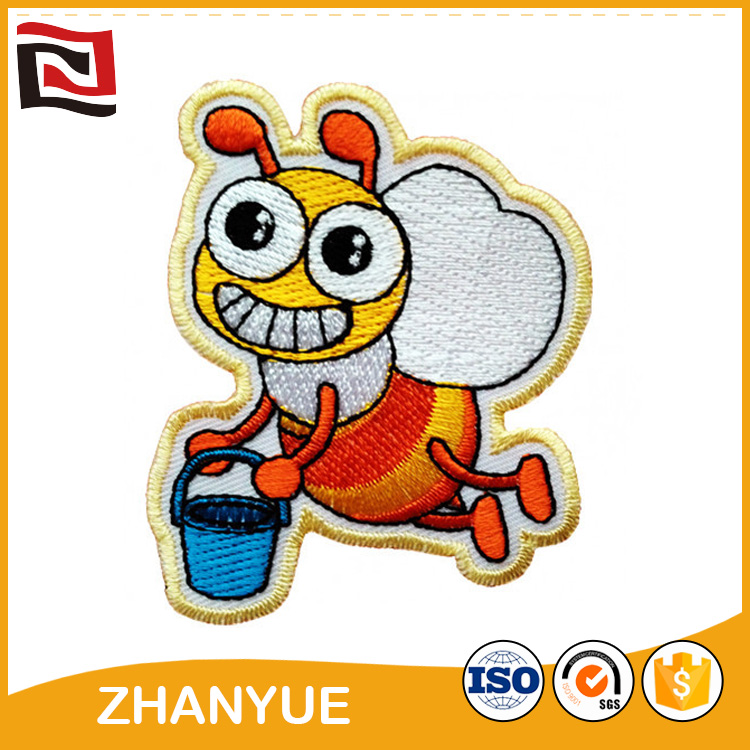 New style lovely embroidery patch tiger patch