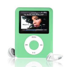 "Fino 1.8 ""LCD 3th MP3 <span class=keywords><strong>MP4</strong></span> mp3 player 8 GB de memória"