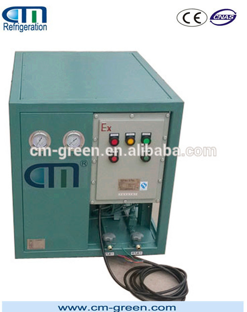 CMEP6000 Anti-explosive Refrigerant Recharge equipment Super Speed Recovery