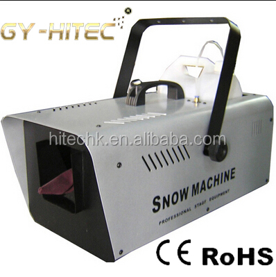 High Quality 1500W DMX Snow Machine For Event Party,Disco,Studio,Wedding,Stage Special Effects