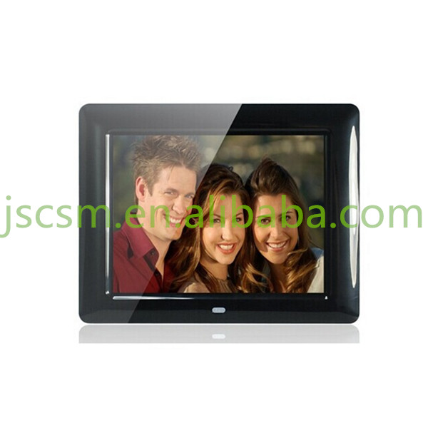 7'' inch hd lcd showcase video/music/photo digital frame portable dvd player
