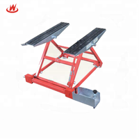 2018 Hot Sales 1500kgs Mini Tilting Car Lift China Portable Vehicle Hoist for Mobile Car Service