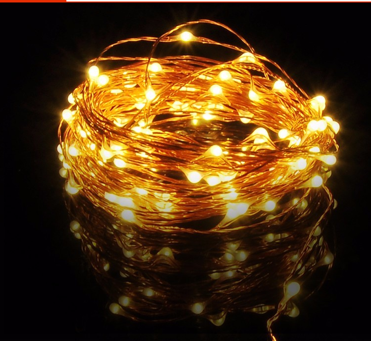 Dimmable Led Starry String Lights 33ft Copper Wire 5v Led Mini ...