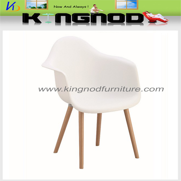 Hot Sell Plastic Wooden Leisure Chairs