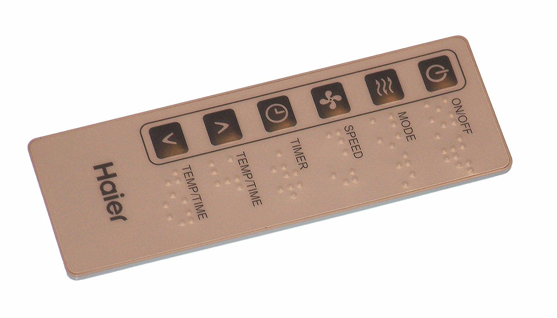 OEM Haier Remote Control: ACB08JE, EAS405p, ESA405L, ESA408J, ESA408M