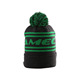 korean mens teenagers fur ball light up knitted beanie hats with tassel