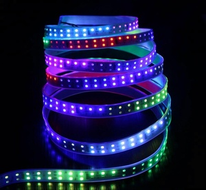 12V 120LEDs programmable WS2812B RGB 5050 LED strip Digital Individually addressable magic