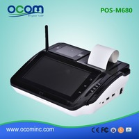 POS-M680: China cheap restaurant supermarket touch screen pos system all in one price for retail