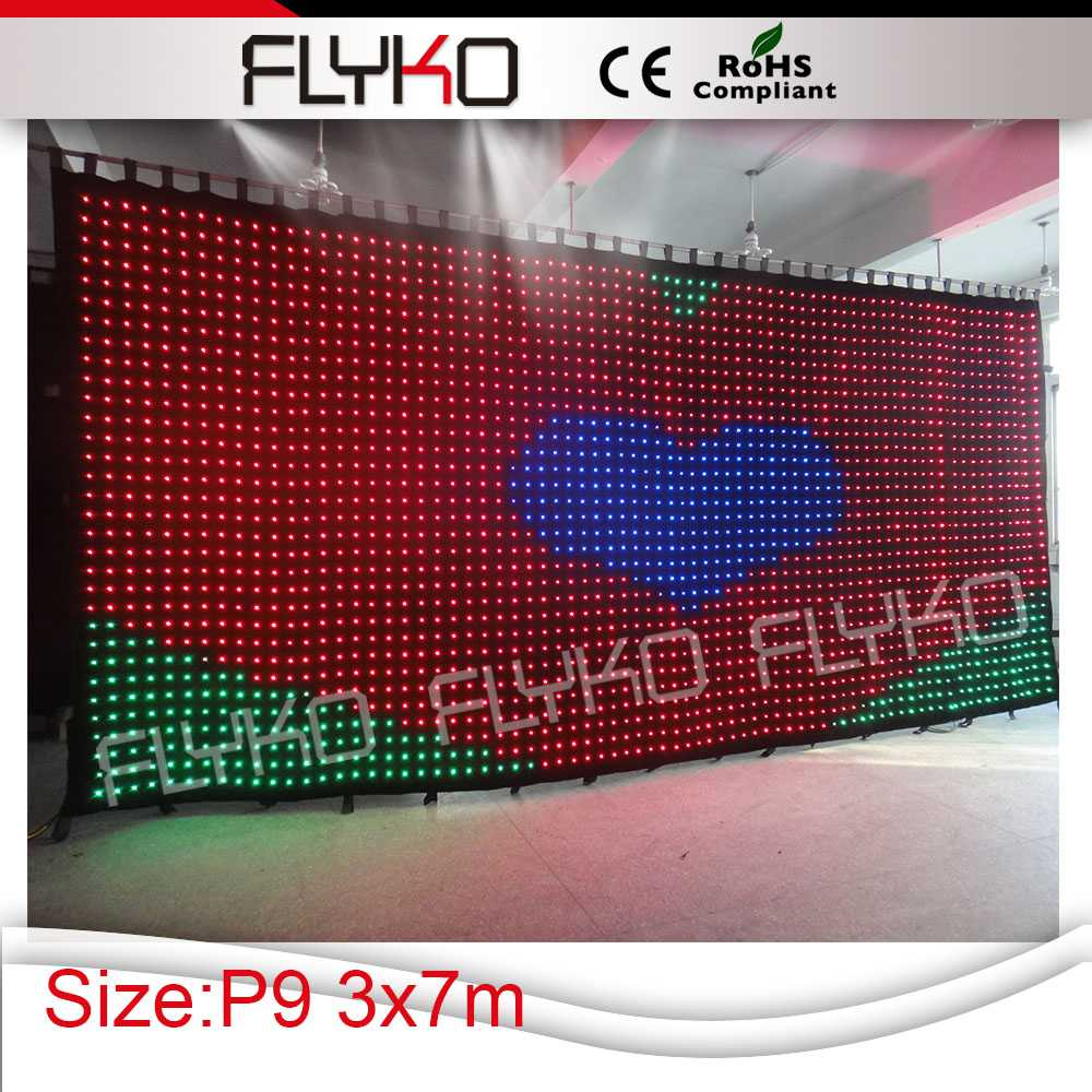 best selling products in america led curtain/flexible led screen/soft led displays