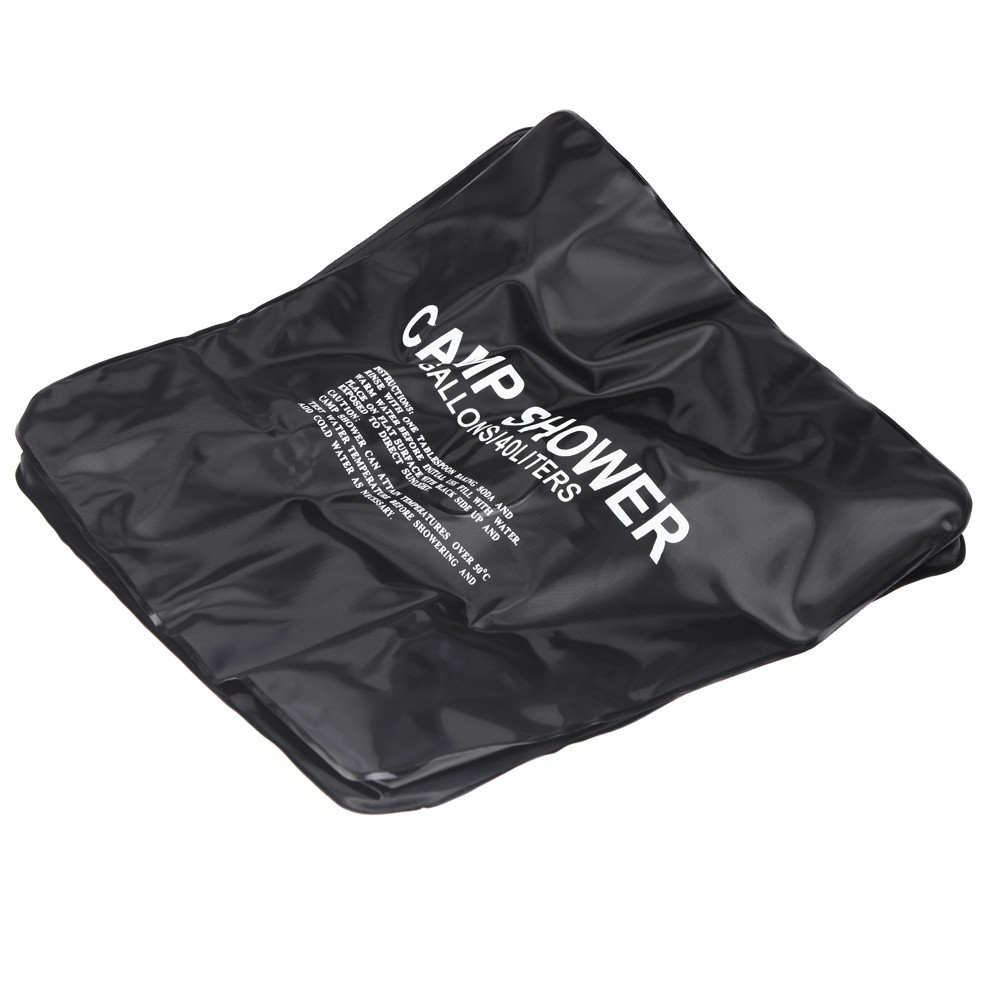 Outdoor 20L / 5 Gallons Solar Energy Heated Camp Shower Bag PVC Water Bag