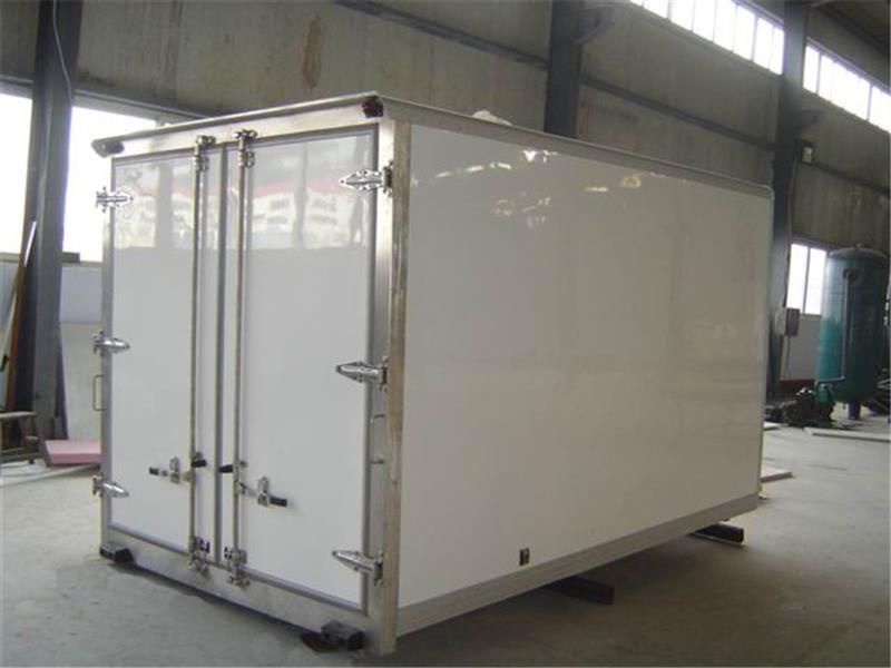 Hot Sale 1 Tons Insulation Box Refrigerated Trailer Refrigerator Trailer With Refrigerator