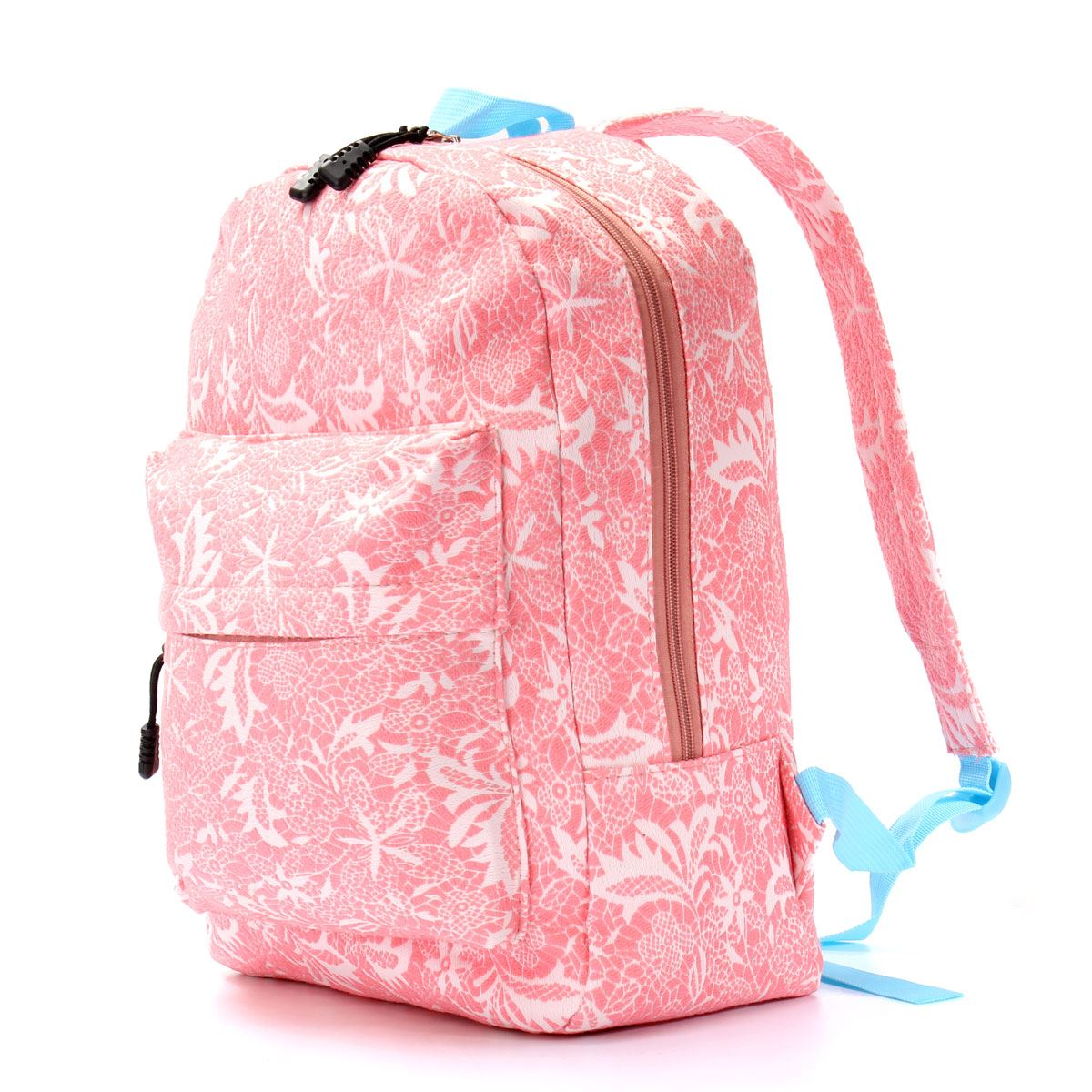 Get Quotations · Fashion Preppy Canvas Girls Backpacks Floral Women School  Bags College Travel Backpack Mochila Bags Teenagers Girls ab51911494ef4