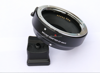 EF-MFT Electronic Aperture Control Lens Mount Adapter for Canon EF & EF-S to Olympus PEN E-P1 P2/3/5 E-PL1 OM-D E-M5 Panasonic L
