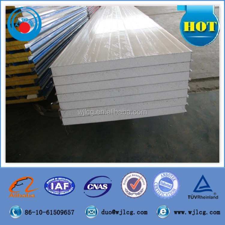 insulated wall and roof eps panels/EPS styrofoam sandwich board/styrofoam sandwich wall panels for prefab houses