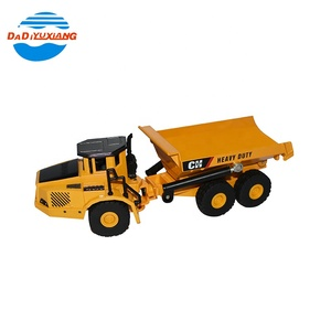 Engineering 1:50 dump model alloy truck toy for kids