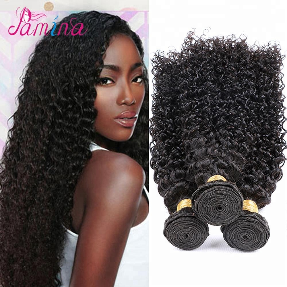 8a Curly Hair Extension For Women Brazilian Virgin Human Hair Cheap  Brazilian Kinky CurlyHair Bundles   39844b8297