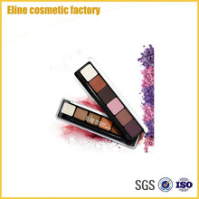 6 Colors Matte and Pearl Eyeshadow Palette Private Label Makeup Eyeshadow Palette