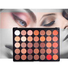 Creazy Cosmetic Matte private label 35 color eyeshadow palette