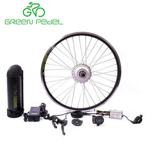 GreenPedel HI Quality hot sale europe standard 36V 48v 350w e-bike brushless geared motor conversion kit