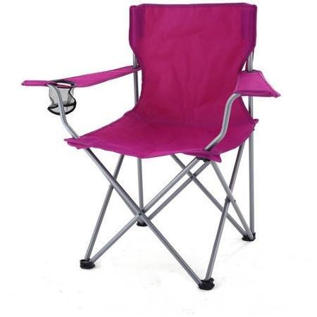 Ozark Trail Folding Chair Raspberry Convenient Regular Foldable Camping Chair