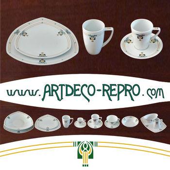 Ongekend Art Deco'chris' Servies - Buy Art Deco Porselein Product on FX-46