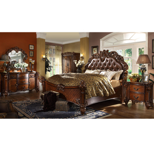 American European furniture classic royal luxury style bedroom set